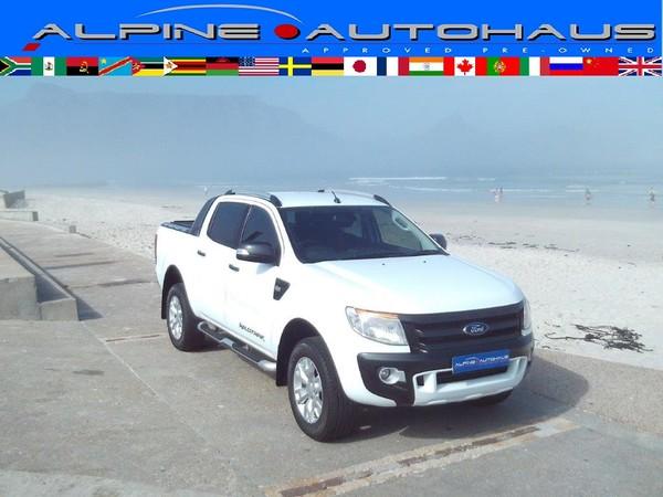 2015 Ford Ranger 3.2TDCi WILDTRAK 4X2 Double Cab Bakkie Western Cape_0