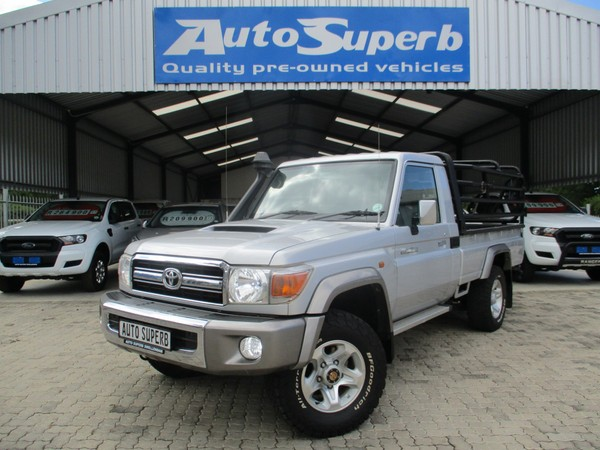 2014 Toyota Land Cruiser 70 4.5D Single cab Bakkie Western Cape Swellendam_0