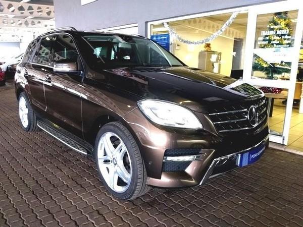 2013 Mercedes-Benz M-Class Ml 350 Be  Mpumalanga Witbank_0