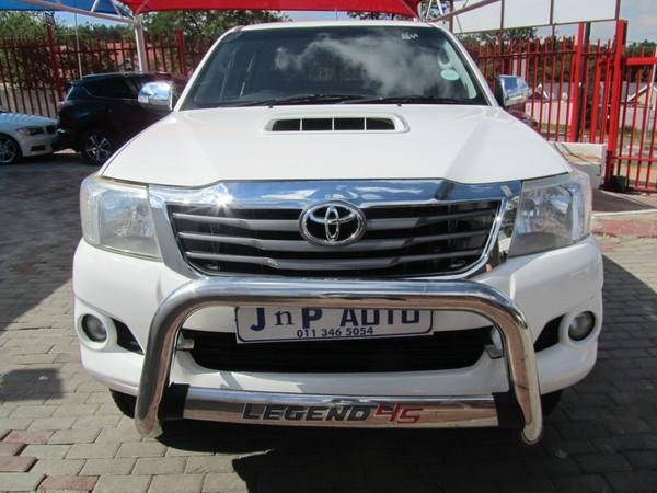 2014 Toyota Hilux 3.0 D-4D LEGEND 45 RB Double Cab Bakkie Gauteng Bramley_0