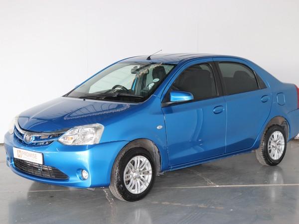 2015 Toyota Etios 1.5 Xs  Gauteng Springs_0