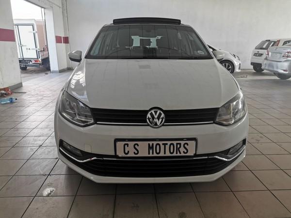 2016 Volkswagen Polo 1.2 TSI Highline 81KW Gauteng Kempton Park_0