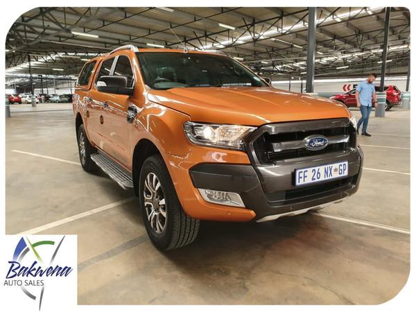 2016 Ford Ranger 3.2TDCi 3.2 WILDTRAK 4X4 Auto Double Cab Bakkie Gauteng Karenpark_0