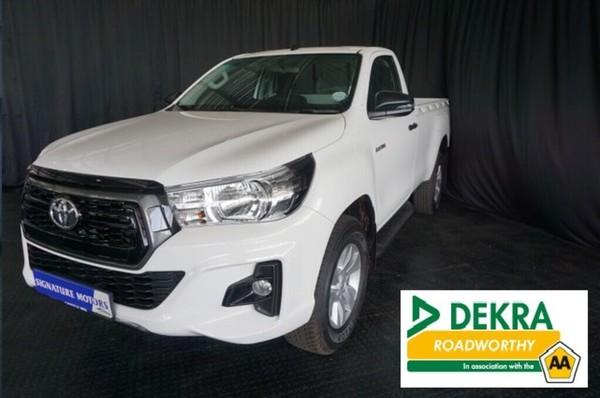 2019 Toyota Hilux 2.4 GD-6 RB SRX Single Cab Bakkie Gauteng Boksburg_0