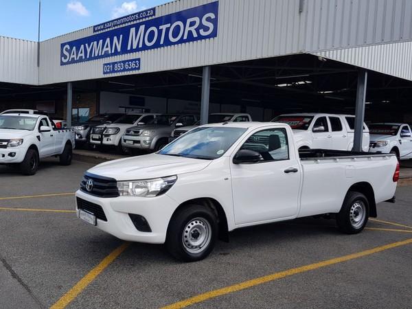 2016 Toyota Hilux 2.0 VVTi AC Single Cab Bakkie Western Cape Strand_0