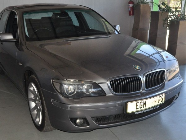2006 BMW 7 Series 750i e65  Free State Bloemfontein_0
