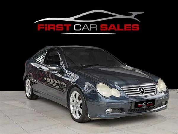 2004 Mercedes-Benz C-Class C 230k Coupe At  Gauteng Johannesburg_0
