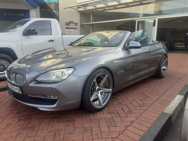 2012 BMW 6 Series 650i Convert At f12  Gauteng Alberton_0