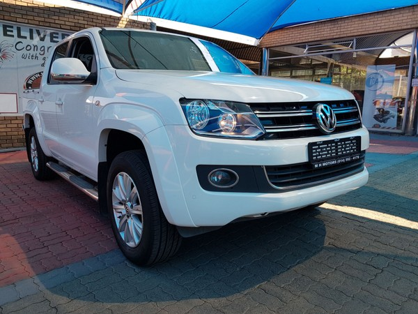 2015 Volkswagen Amarok 2.0 BiTDi Highline 132KW Auto Double Cab Bakkie North West Province Rustenburg_0