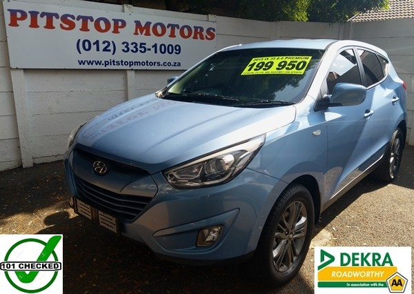2015 Hyundai iX35 2.0 Premium Gauteng Pretoria_0