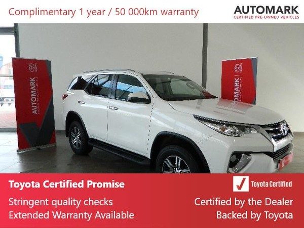 2018 Toyota Fortuner 2.8GD-6 RB Auto Western Cape Rondebosch_0