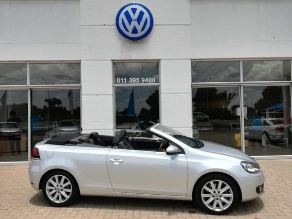 2013 Volkswagen Golf Vi 1.4 Tsi Cabrio 118kw Hline  Gauteng Benoni_0