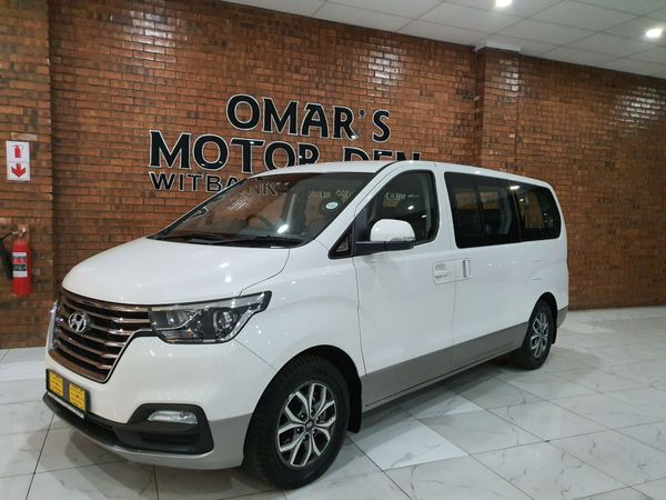 2018 Hyundai H1 2.5 CRDI Wagon Auto Mpumalanga Witbank_0