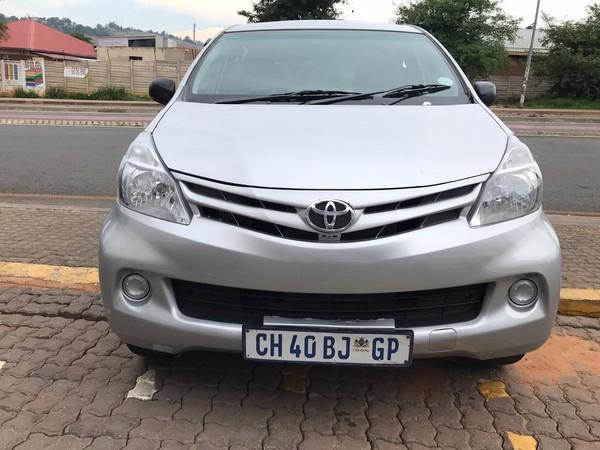 2012 Toyota Avanza 1.3 Sx  Gauteng Johannesburg_0