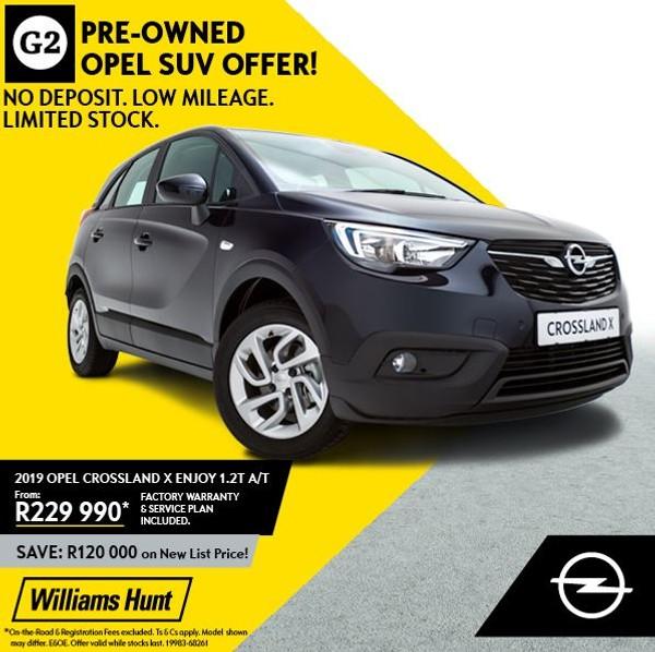 2019 Opel Crossland X 1.2T Enjoy Auto Gauteng Centurion_0