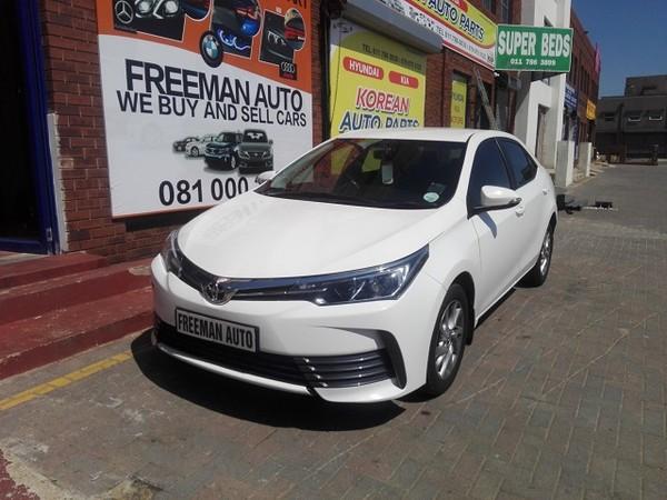 2018 Toyota Corolla 1.3 Prestige Gauteng Bramley_0