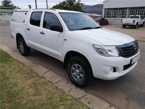 2013 Toyota Hilux 2.5d-4d Srx 4x4 Pu Dc  Western Cape Citrusdal_0