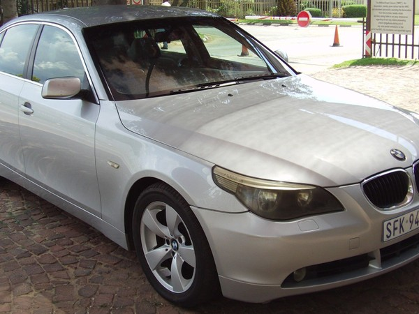 2005 BMW 5 Series 530d At e60  Gauteng Boksburg_0