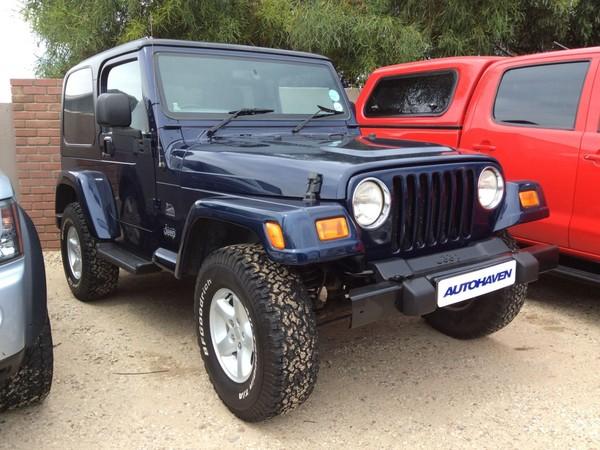 2006 Jeep Wrangler Sahara 4.0 6sp  Western Cape Hermanus_0