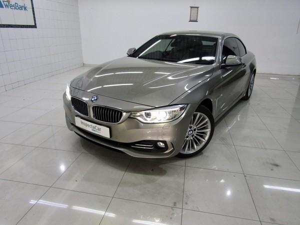 2015 BMW 4 Series 428i Convertible Luxury Line Auto Gauteng Pretoria_0