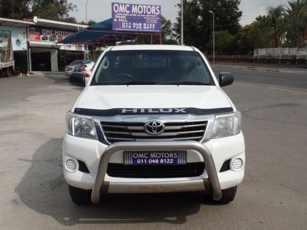 2014 Toyota Hilux 2.5 D-4d Srx Xtra Cab Pu Sc  Gauteng Johannesburg_0