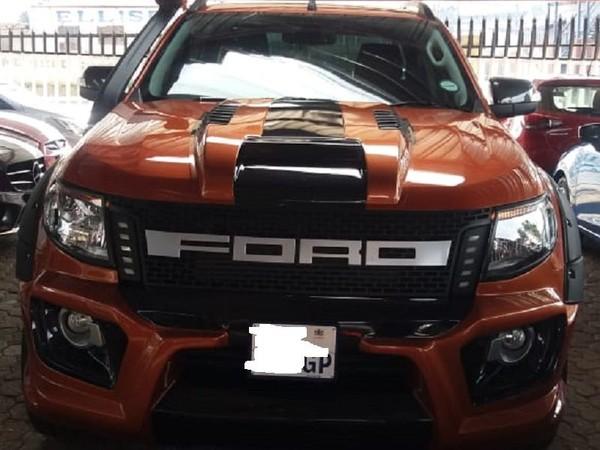 2015 Ford Ranger 3.2TDCi Wildtrak Auto Double cab bakkie Gauteng Jeppestown_0