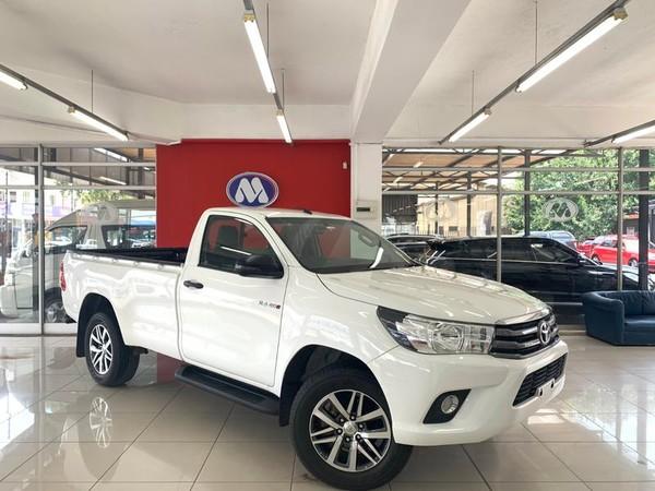 2018 Toyota Hilux 2.4 GD-6 RB SRX Single Cab Bakkie Gauteng Vereeniging_0