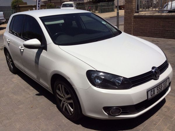2012 Volkswagen Golf Vi 1.6 Tdi Comfortline Dsg  Western Cape Hermanus_0