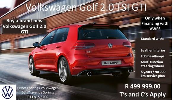 2020 Volkswagen Golf VII GTI 2.0 TSI DSG Gauteng Springs_0