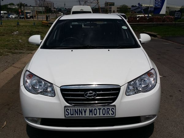 2008 Hyundai Elantra 1.6 Gls  Gauteng Kempton Park_0