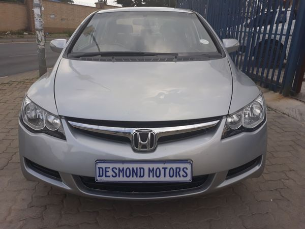 2007 Honda Civic 1.8 Lxi At  Gauteng Johannesburg_0
