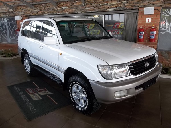 2002 Toyota Land Cruiser 100 Vx Td At  Gauteng Boksburg_0