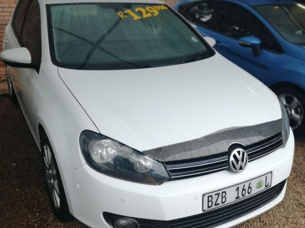 2010 Volkswagen Golf Vi 1.6 Tdi Comfortline Dsg  Gauteng Pretoria_0