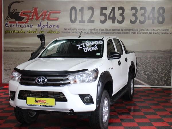 2017 Toyota Hilux 2.4 GD-6 RB SRX Double Cab Bakkie Gauteng Pretoria_0