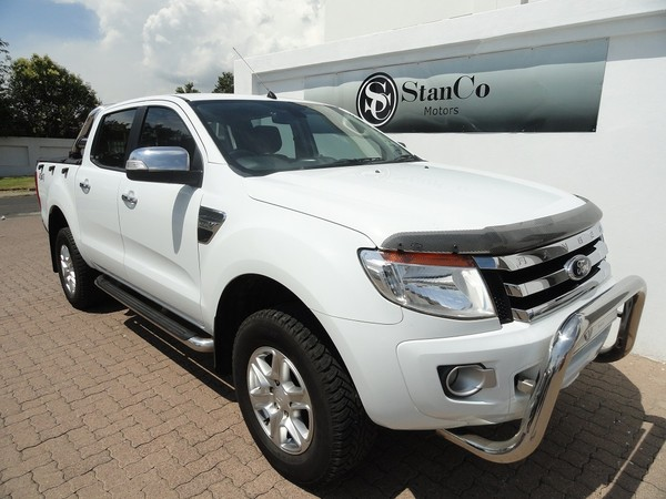 2013 Ford Ranger 3.2tdci Xlt 4x4 At Pu Dc  Mpumalanga Secunda_0