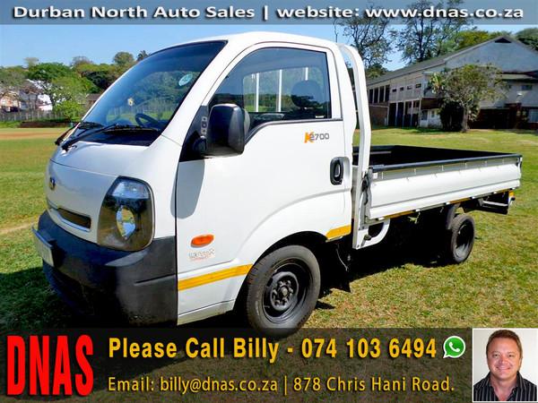 2015 Kia K2700 Workhorse Pu Sc  Kwazulu Natal Durban North_0