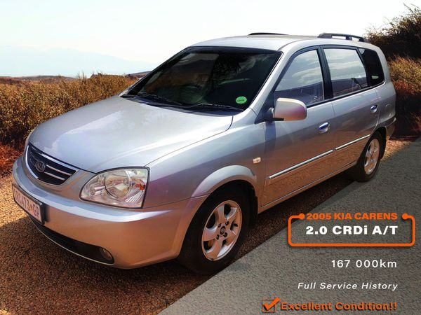 2005 Kia Carens 2.0 Crdi At  Gauteng Magalieskruin_0