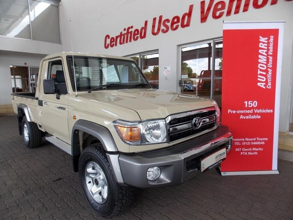2019 Toyota Land Cruiser 79 4.2d Pu Sc  Gauteng Pretoria North_0