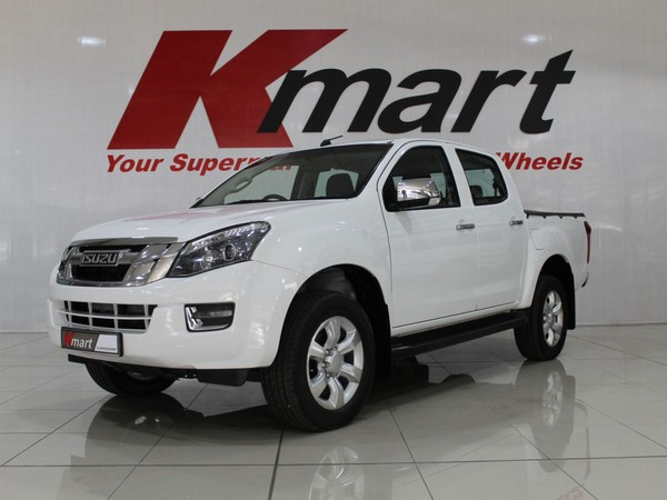 2016 Isuzu KB Series 300 D-TEQ LX AT Double Cab Bakkie North West Province Klerksdorp_0