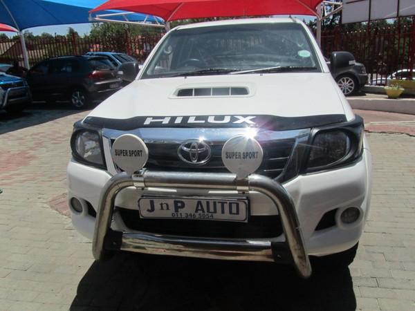 2015 Toyota Hilux 3.0 D-4d Raider Rb Pu Dc  Gauteng Bramley_0