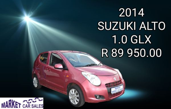 2014 Suzuki Alto 1.0 Glx  Gauteng Johannesburg_0