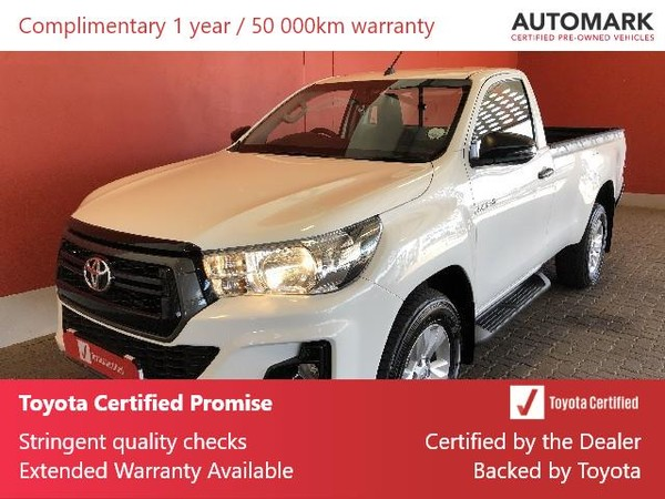 2019 Toyota Hilux 2.4 GD-6 RB SRX Single Cab Bakkie Free State Bloemfontein_0