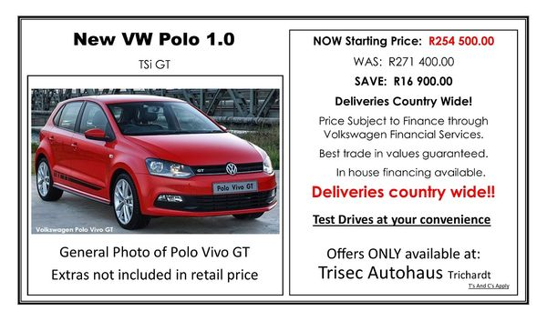 2020 Volkswagen Polo Vivo 1.0 TSI GT 5-Door Mpumalanga Secunda_0