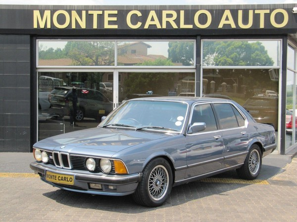 1986 BMW 7 Series 745i e23  Gauteng Sandton_0