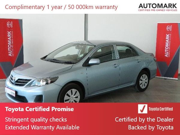 2019 Toyota Corolla Quest 1.6 Western Cape Rondebosch_0