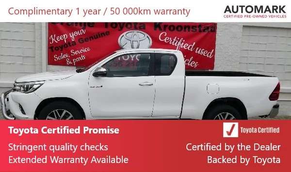 2018 Toyota Hilux 2.8 GD-6 RB Raider Extra Cab Bakkie Auto Free State Kroonstad_0