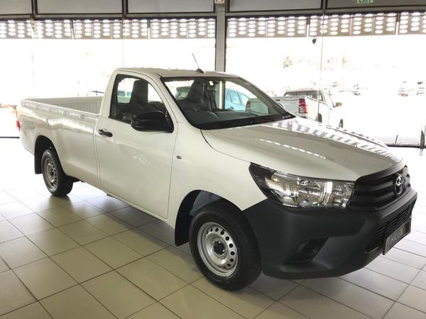 2020 Toyota Hilux 2.0 VVT Single Cab Bakkie Gauteng Sandton_0