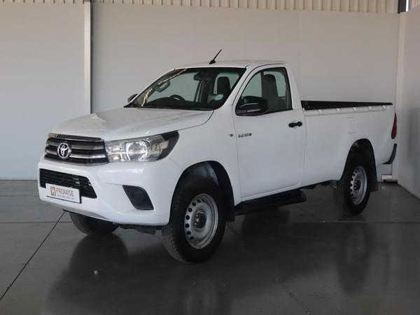 2016 Toyota Hilux 2.4 GD-6 RB SRX Single Cab Bakkie Gauteng Springs_0