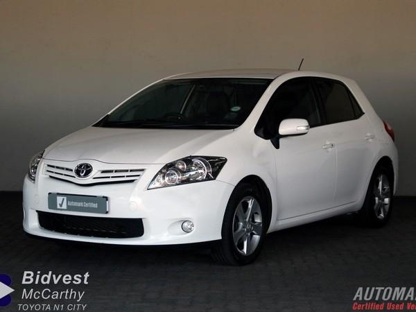 2011 Toyota Auris 1.6 Xr  Western Cape Goodwood_0