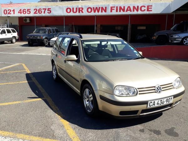 2002 Volkswagen Golf 4 1.6 Estate Trendline  Western Cape Cape Town_0